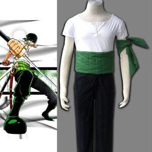 One Piece Roronoa Zoro Cosplay Costume FREE P&P:Free shipping