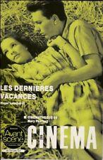 L'Avant-Scène Cinéma N° 255 Novembre 1980 - Les Dernières Vacances R. Leenhardt