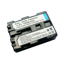 NP-FM500H 1650mAh Replacement Battery fit for SONY Alpha SLT-A57 SLT-A65 SLT-A77