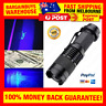 High Power UV Ultra Violet LED Torch Mini Blacklight Flashlight