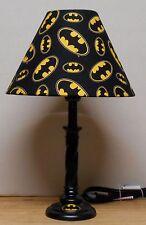 Batman Lamp & shade SUPER HEROES HERO MARVEL COMIC Handmade  Bat Logo 15 BAT