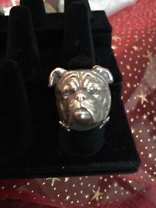 Vintage Bulldog Ring
