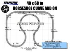 LIONEL FASTRACK 40x60 to Horseshoe Curve ADD ON TRACK PACK layout O Gauge NEW