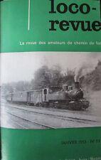 MODELISME FERROVIAIRE TRAIN MAGAZINE LOCO REVUE 12 NUMEROS ANNEE COMPLETE 1953