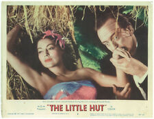 AVA GARDNER DAVID NIVEN The Little Hut Orig 1957 Lobby Card
