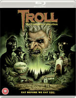 Troll: The Complete Collection Blu-Ray (2018) Michael Moriarty, Bluecher (DIR)