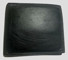 Mens Real Leather Black Luxury Soft Quality Wallet Credit Card Holder Purse