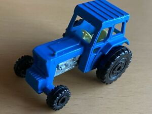 Matchbox Lesney Superfast No 46 Ford Tractor Blue