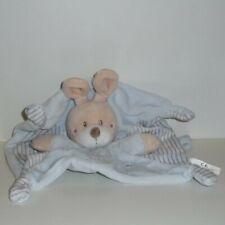 Doudou Lapin Simba Toys Kiabi - Collection dessin Lapin - Bleu
