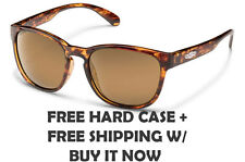 Suncloud Loveseat Sunglasses - Tortoise W/ Sienna Mirrored Polarized Lenses