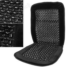 Massage Massaging Black Wooden Bead Beaded Car Van Taxi Front Seat Cover Cushion