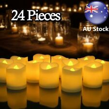 24pcs Candle Tealight Led Tea Light Flameless Christmas Wedding Battery Included