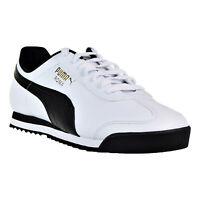 Men's Puma Roma Basic White/Black (353572 04)