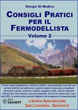 MODELLI TRENI ELETTRICI LIBRO CONSIGLI Modellismo Ferroviario VOLUME 2 NUOVO