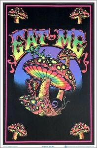 Eat Me Blacklight Poster 23 x 35