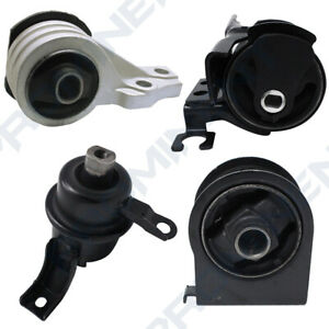 Engine Motor & Mount 4 PCS Replacement For 2005-2012 Ford Escape 3.0L V6 A5446