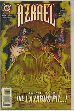 DC Comics Azrael #6 July 1995 Ras Al Ghul VF+