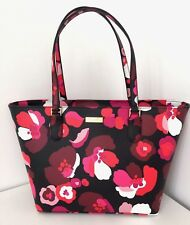 KATE SPADE LAUREL WAY PRINT FAUX SAFFIANO LEATHER TOTE BAG BNWT RETAIL £270