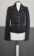 Principles Women's Black Shell 100% Linen Blazer Jacket UK 12