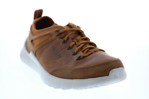 Keen Highland Sneaker Mens Brown Synthetic Lace Up Lifestyle Sneakers Shoes 9