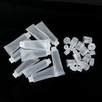 10x 10ml Mini Refillable Empty Tube Lip Gloss Balm Container DIY Cosmetic Bottle