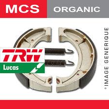 Mâchoires de frein Arrière TRW Lucas MCS 989 pour Gilera 50 Storm (C29) 07-11
