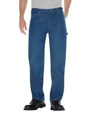 Dickies STONEWASHED INDIGO BLUE Relaxed Fit Carpenter Denim Jeans 1993SNB
