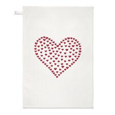 Intimo TEA ASCIUGAMANO dish cloth-LOVE ROSSO SAN VALENTINO