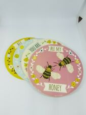 Sass & Belle Bee Ceramic Coasters 4 Pack
