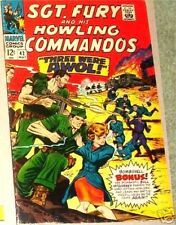SGT. FURY 42 SERGEANT 1963 SERIES HOWLING COMMANDO NICK