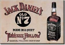 Jack Daniels Tennessee Hollow Whiskey Magnet Magnetschild aus USA
