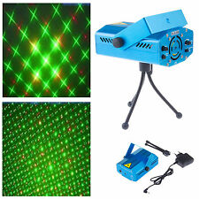 Blue Mini LED Laser Projector Stage Light Club DJ Disco Bar House Lighting Kit
