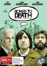 BORED TO DEATH - SEASON 1..TED DANSON..REG 4..NEW & SEALED
