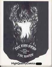 FIRE-FIEND & the RAVEN sc, 1973, Gardette, Edgar Allan Poe,