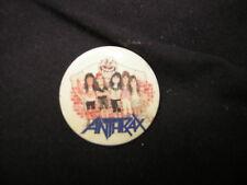 Anthrax Button Vintage State Of Eurphoria Era 1988 Funky Scott Ian