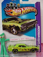 CASE F 2013 Hot Wheels '71 PLYMOUTH ROAD RUNNER 1971 #215✰Kmart Ex Sublime GREEN