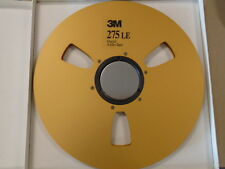 "3M Gold Ampex 467 Precision Metal Aluminum Take Up Reel 1/4"" 1/4 tape 12.5"" inch"
