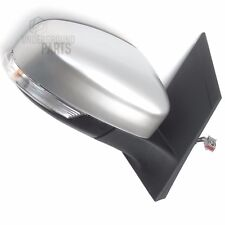FORD FOCUS MK2 MOONDUST SILVER DOOR WING MIRROR RIGHT OFFSIDE DRIVERS SIDE OS
