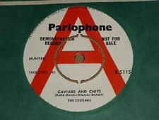 """Cougars """"Caviare And Chips"""" Parlophone Demo 45"""