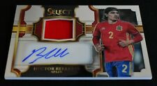 2017-18 Panini Select Soccer Jersey Autographs Hector Bellerin - Spain 045/249
