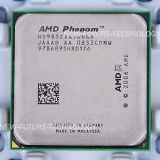 AMD Phenom X4 9850 (HD985ZXAJ4BGH) 2000 MHz 2.5 GHz Socket AM2 CPU 100% Work