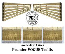 More details for premier vogue contemporary venetian style urban trellis lattice garden fence