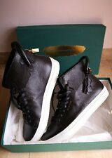 buscemi sneakers 125 mm black leather size 43 outsole 29.1 mm