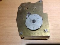Vintage Clock or Timer Movement For Spare Parts or Interest. 13x10cm