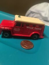 MATCHBOX Vintage 1978 Superfast Armored Truck No. 69 Wells Fargo FREE SHIPPING L
