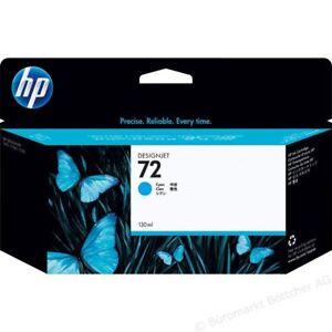 Original HP 72 cyan C9371A DesignJet T610 T770 T790 T1100 T1120 T1200 OVP 2/2017