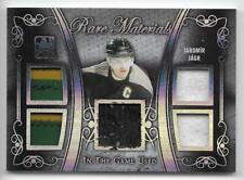 17/18 IN THE GAME USED RARE MATERIALS JERSEY/PATCH Jaromir Jagr #1/2