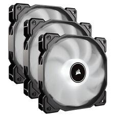 Corsair AF120 Air Series LED 120mm Computer Case Fans - Triple Pack - White