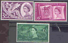 Great Britain 1958 BE & COMMONWEALTH GAMES Set (3)Unhinged Mint, SG 567-9