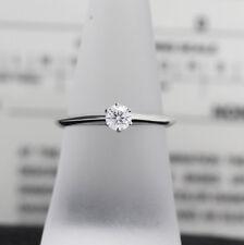 Tiffany & Co. Verlobungsring Platin 950-Gr.51 - Box & Zertifikat 0,26 ct - VS1